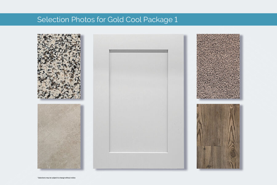 Gold Cool 1 Design Package