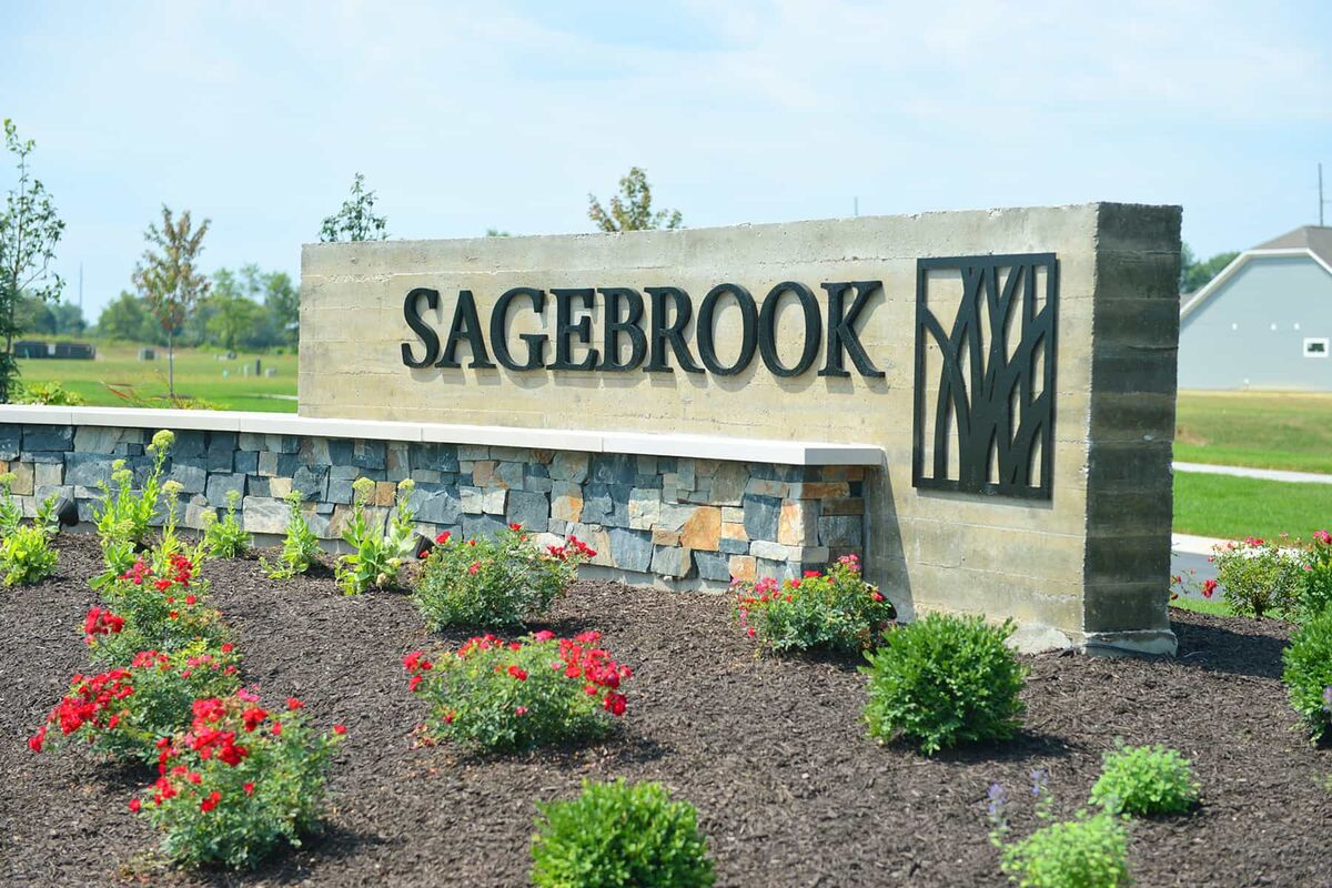 Sagebrook Entrance