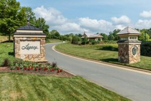 Legacy at Jordan Lake - Legacy Falls - Entrance