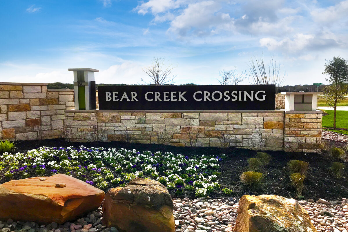 Bear Creek Crossing Entrance