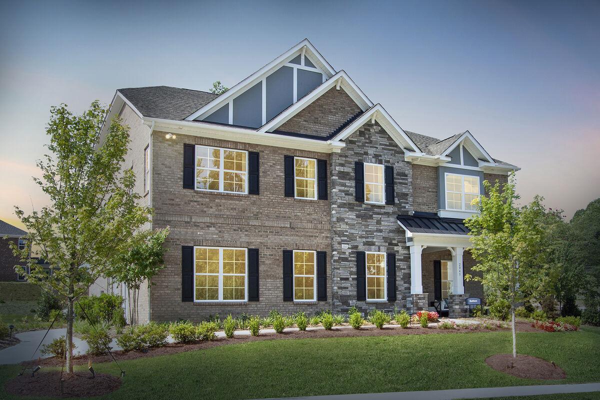 Model Home Exterior