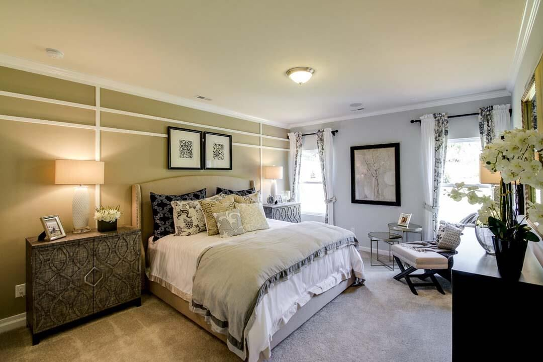 McLean - The Conservancy Master Bedroom