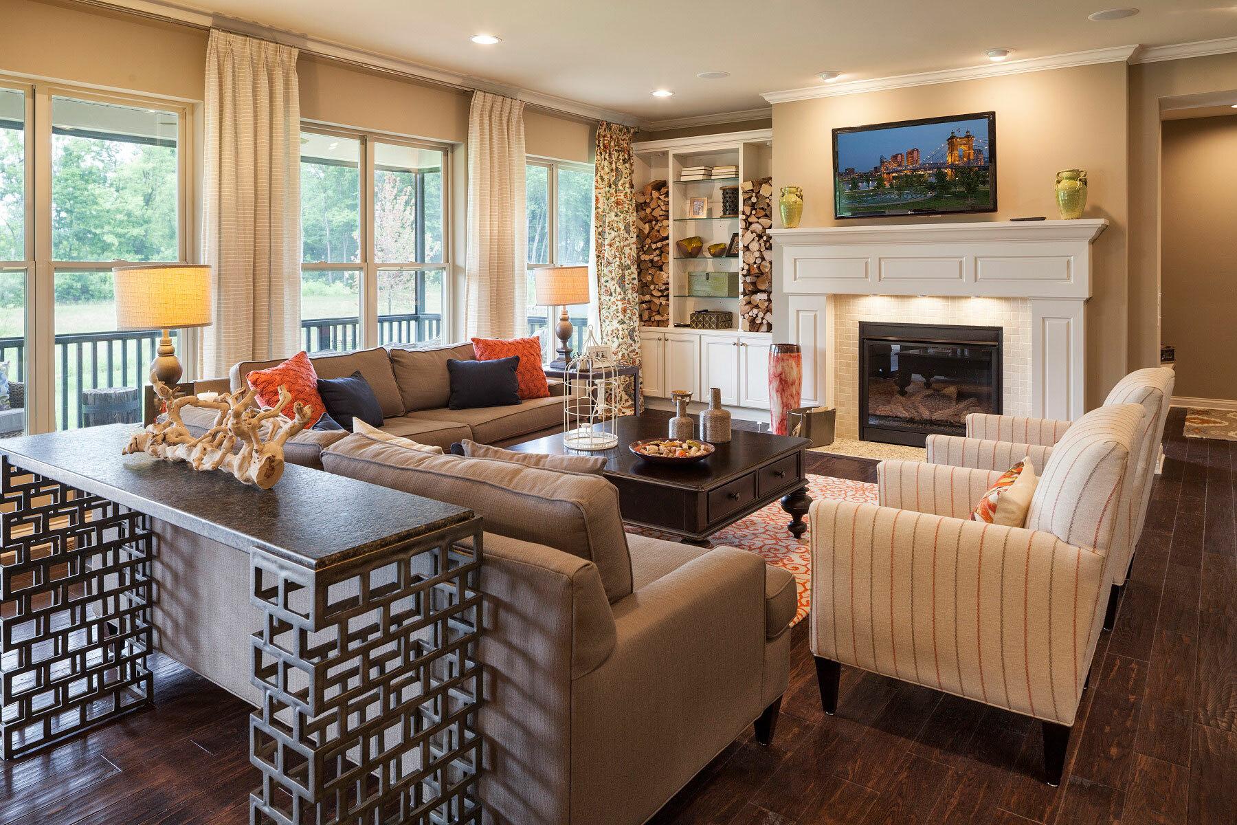Trails of Shaker Run Estates Living Room