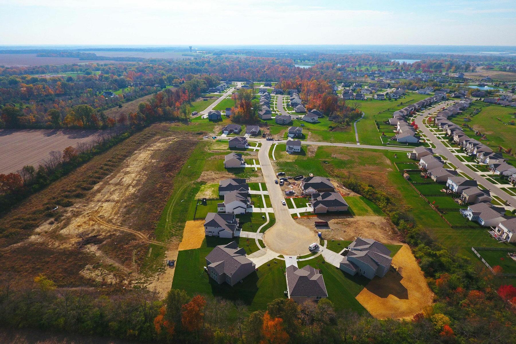 Trails of Shaker Run Estates Aerial