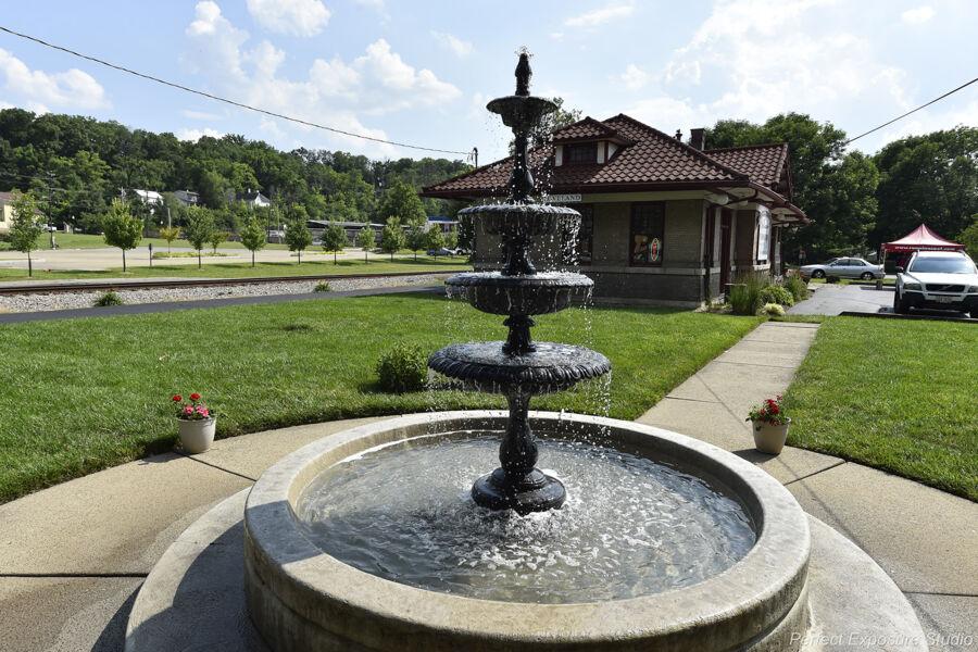Madingley Falls Fountain
