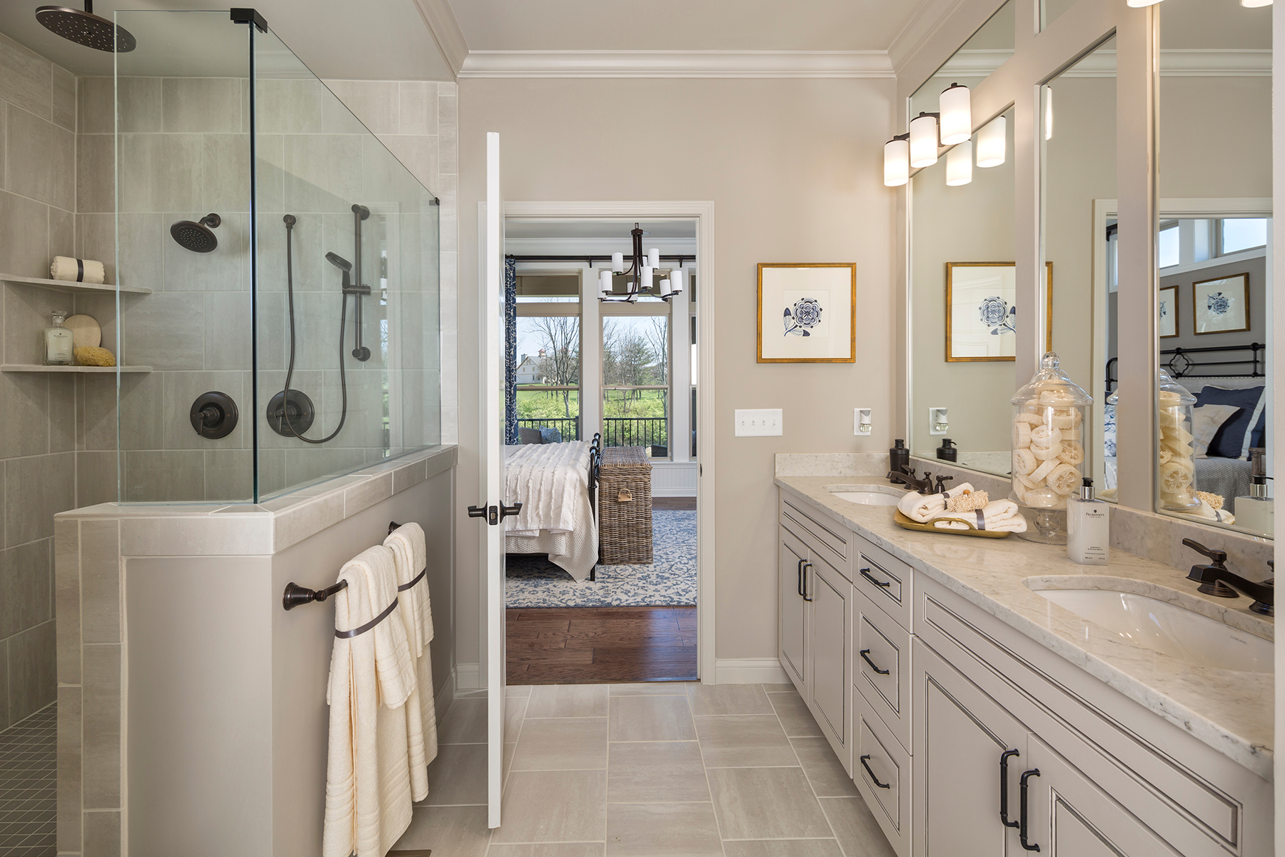 Retreat at Carriage Hill Owner's Bathroom