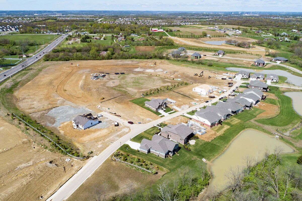 Carriage Hill Aerial