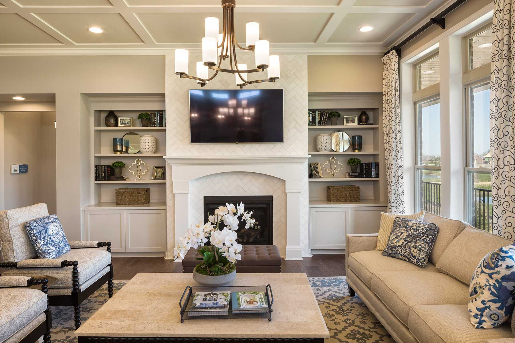 Carriage Hill Enclave Family Room
