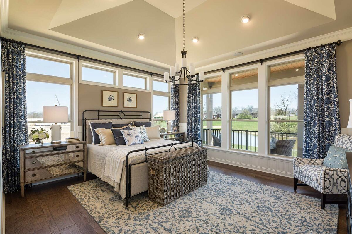 Carriage Hill Enclave Master Bedroom