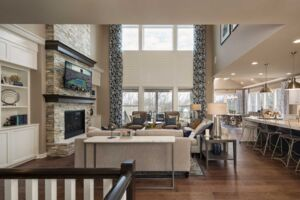 Hudson Hills The Woods Family Room