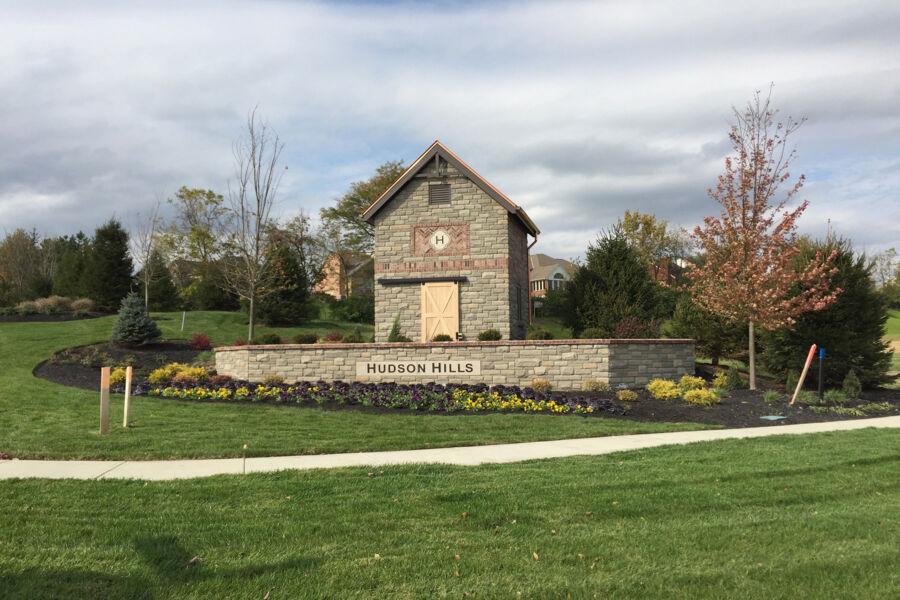 Hudson Hills Entrance
