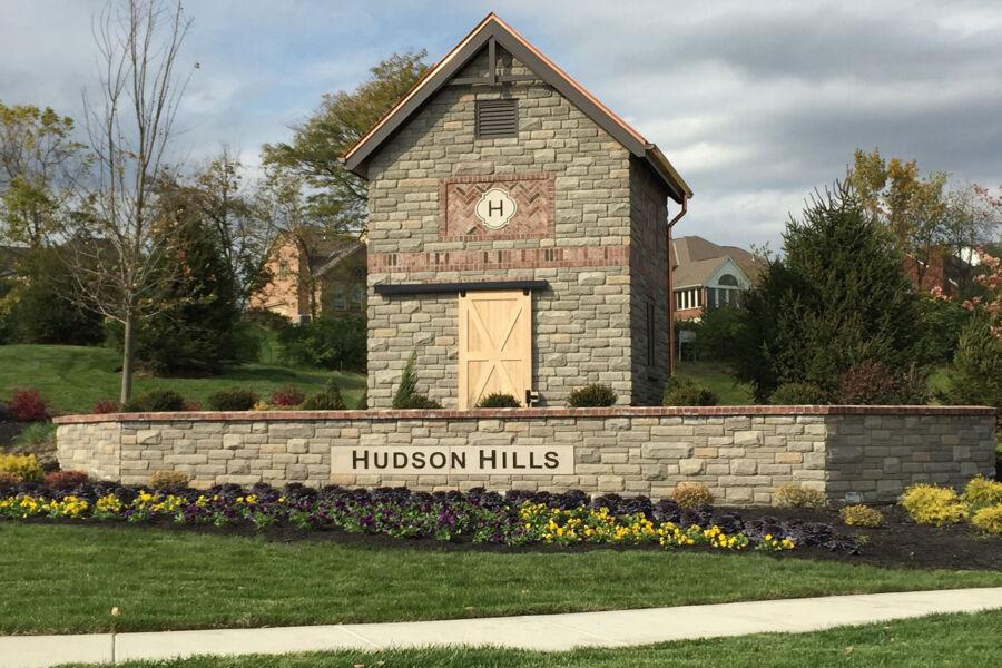 Hudson Hills Community Entrance