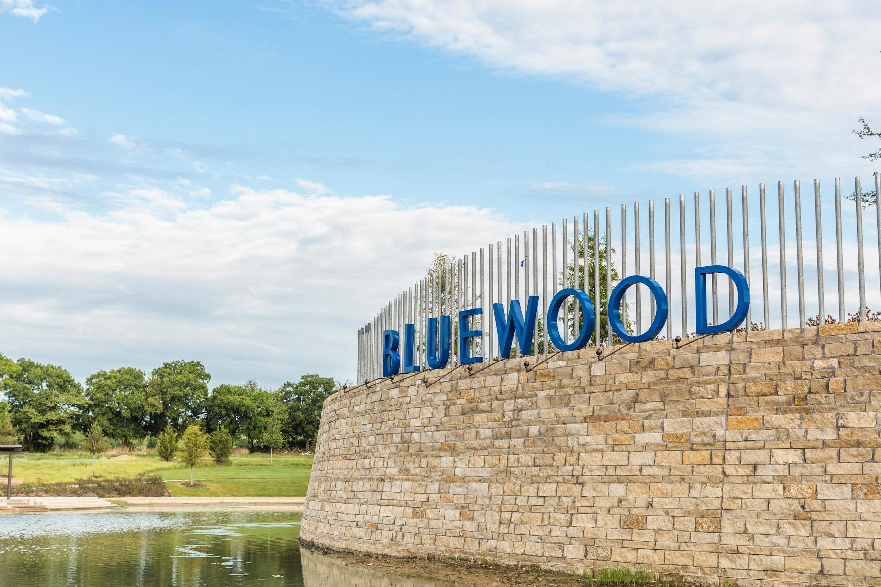 Bluewood Entrance