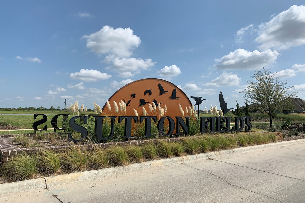 Sutton Fields Entrance