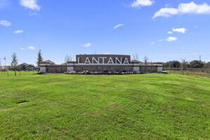 Lantana Entrance