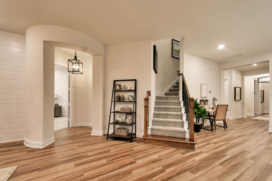 Bridgeland Staircase