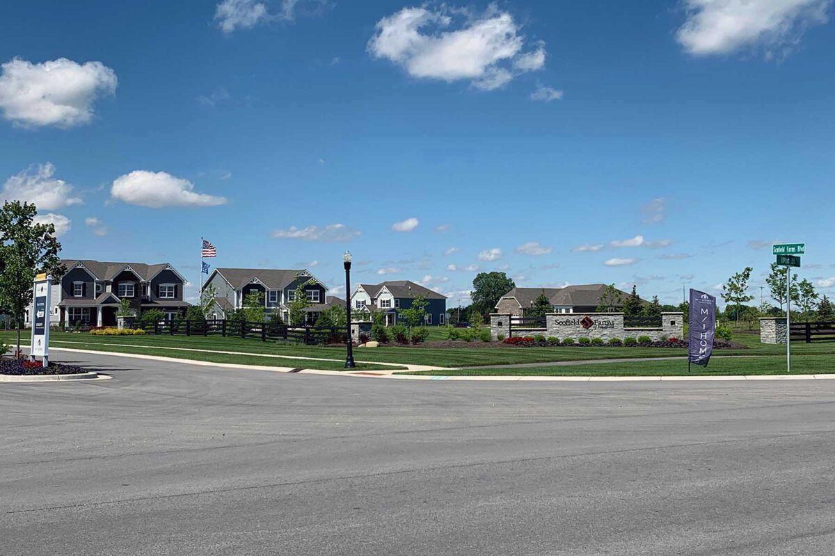 Scofield Farms Streetscape