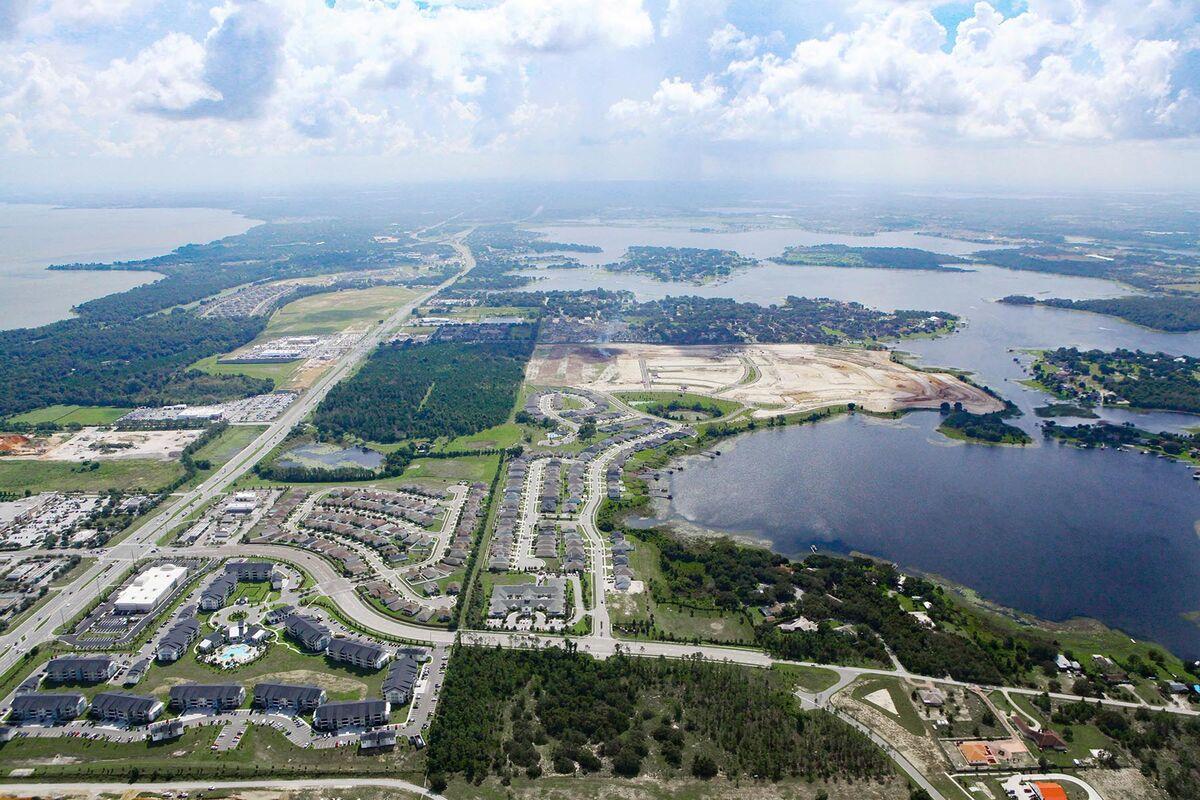 John's Lake Landing Aerial