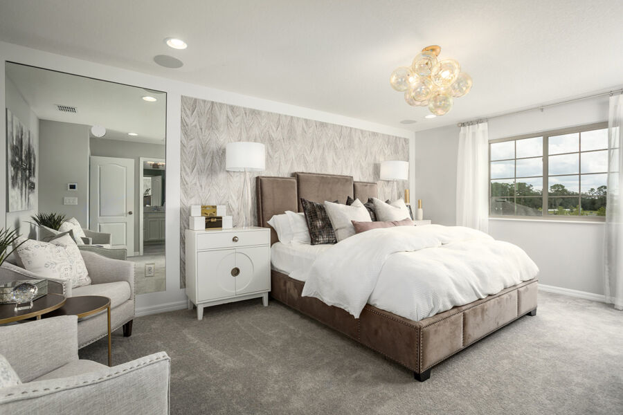 Towns at White Cedar Bedroom
