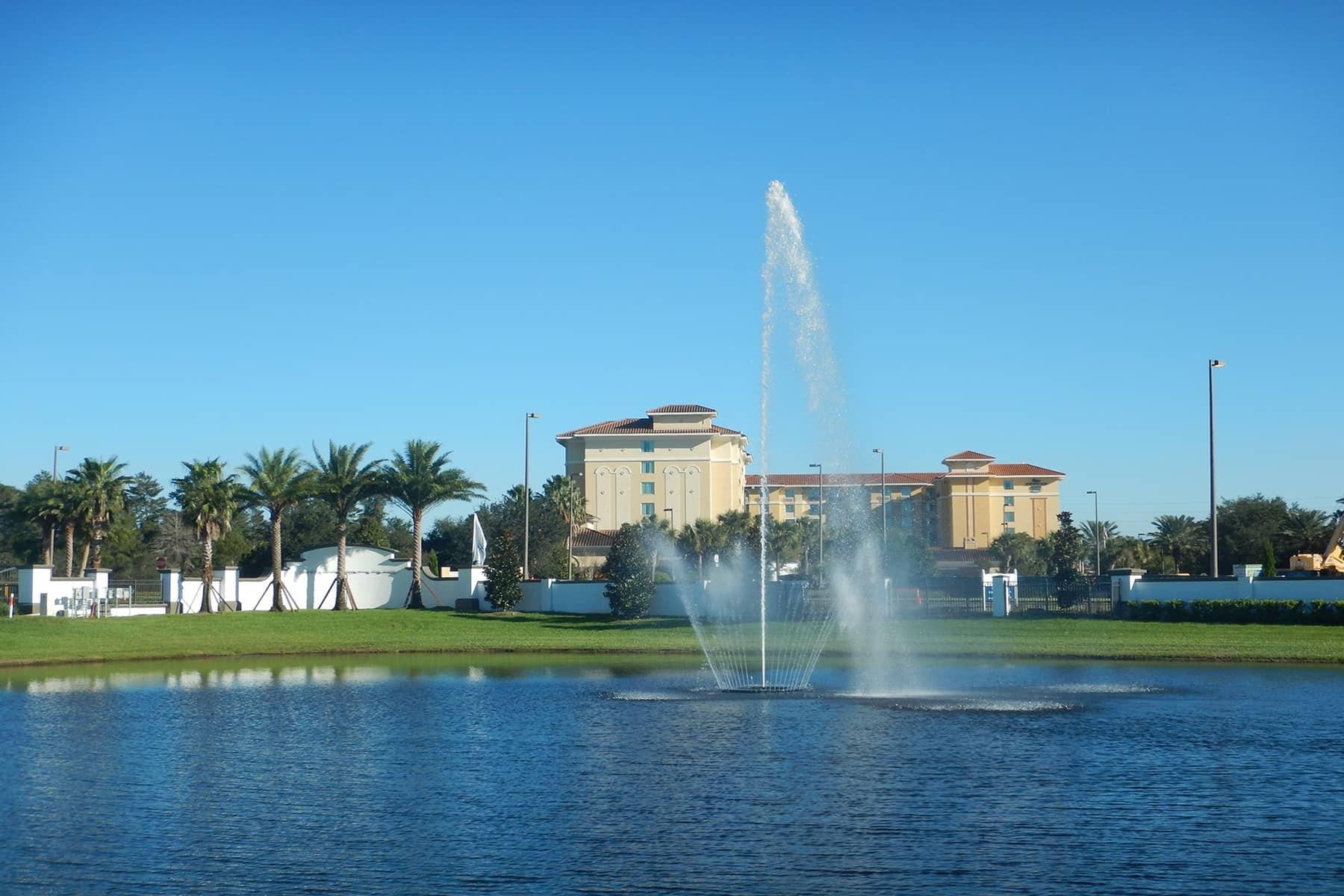 Ruby Lake Fountain