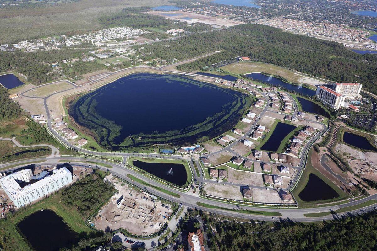 Ruby Lake Aerial
