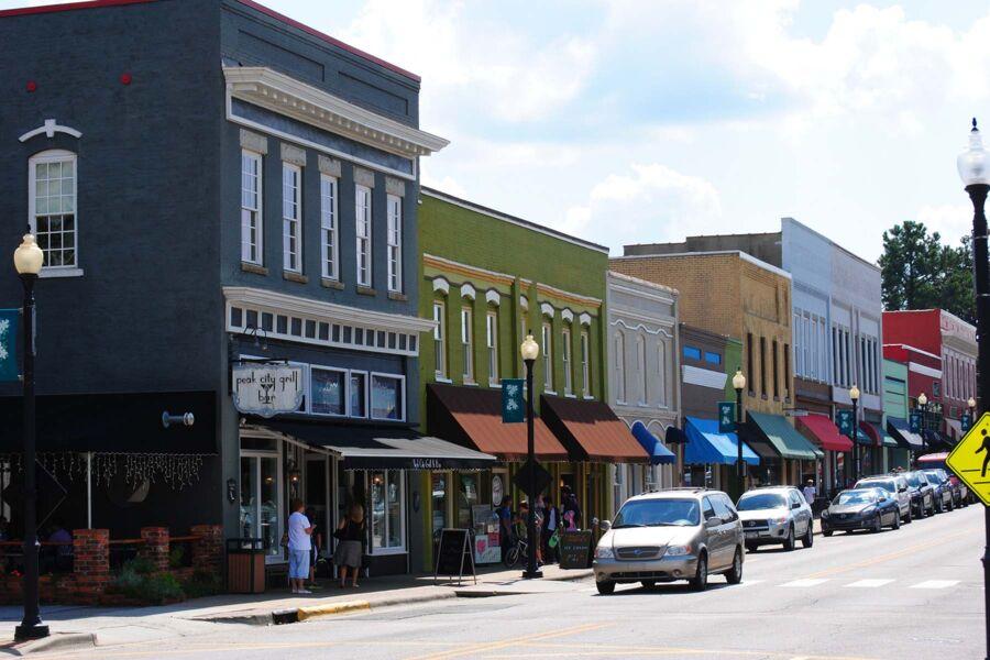 Downtown Apex