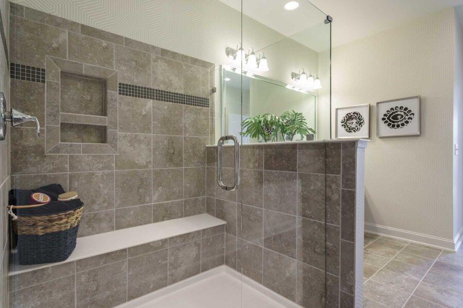 Andrews Chapel Master Bathroom