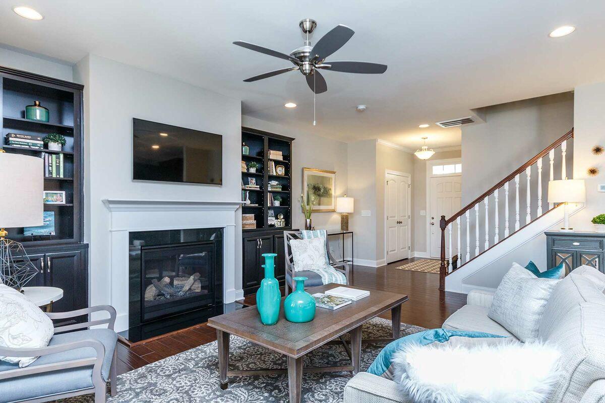 Andrews Chapel Living Room
