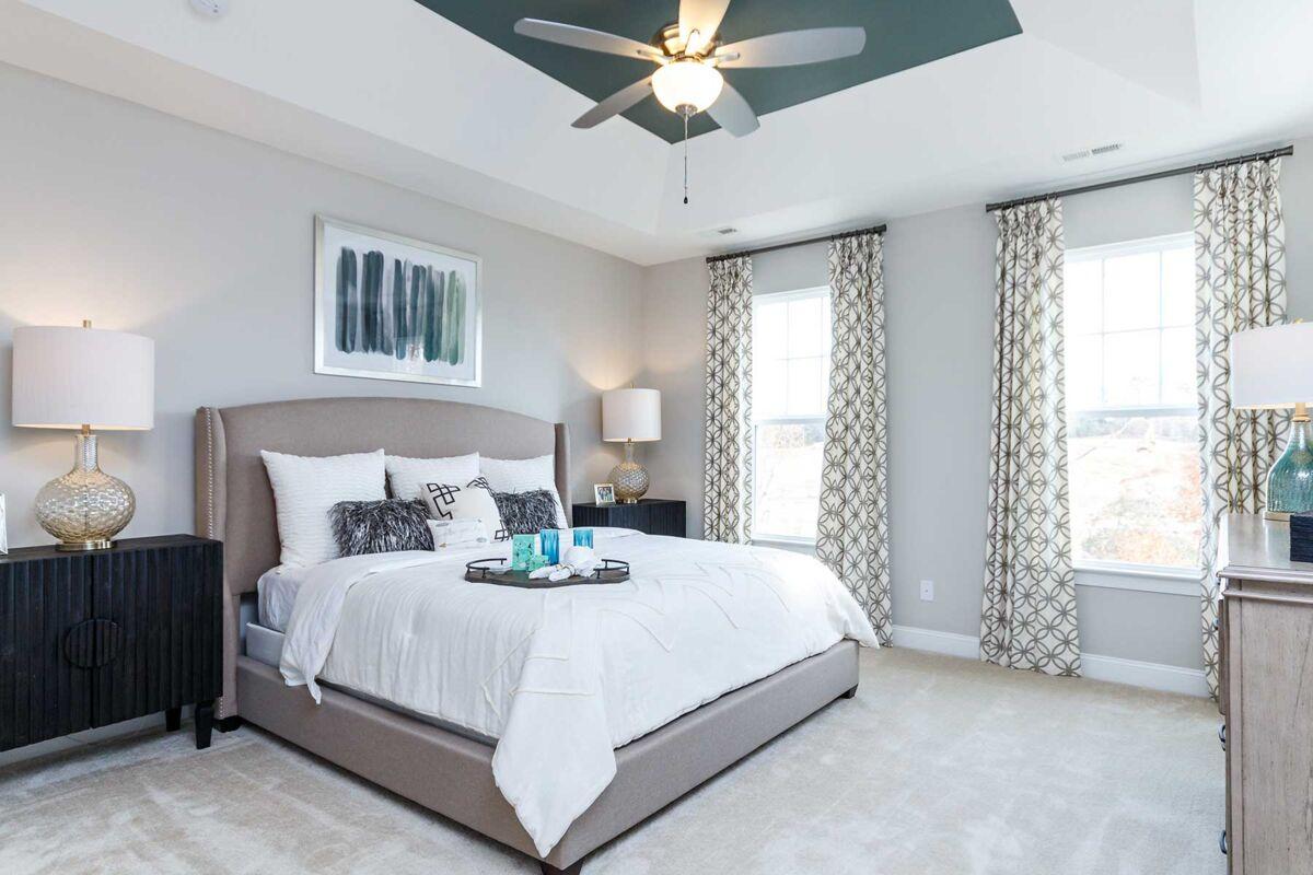 Andrews Chapel Master Bedroom