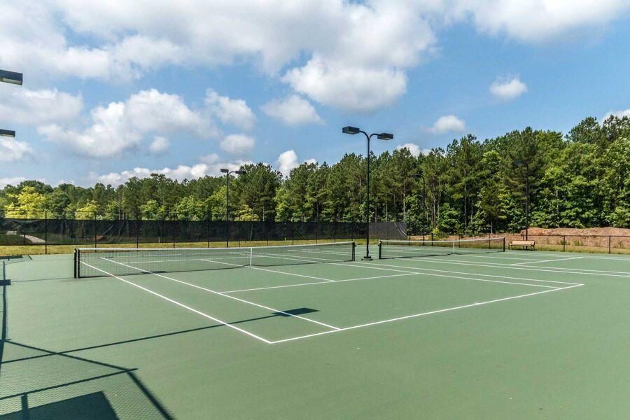 Legacy at Jordan Lake - Legacy Falls - Tennis Courts