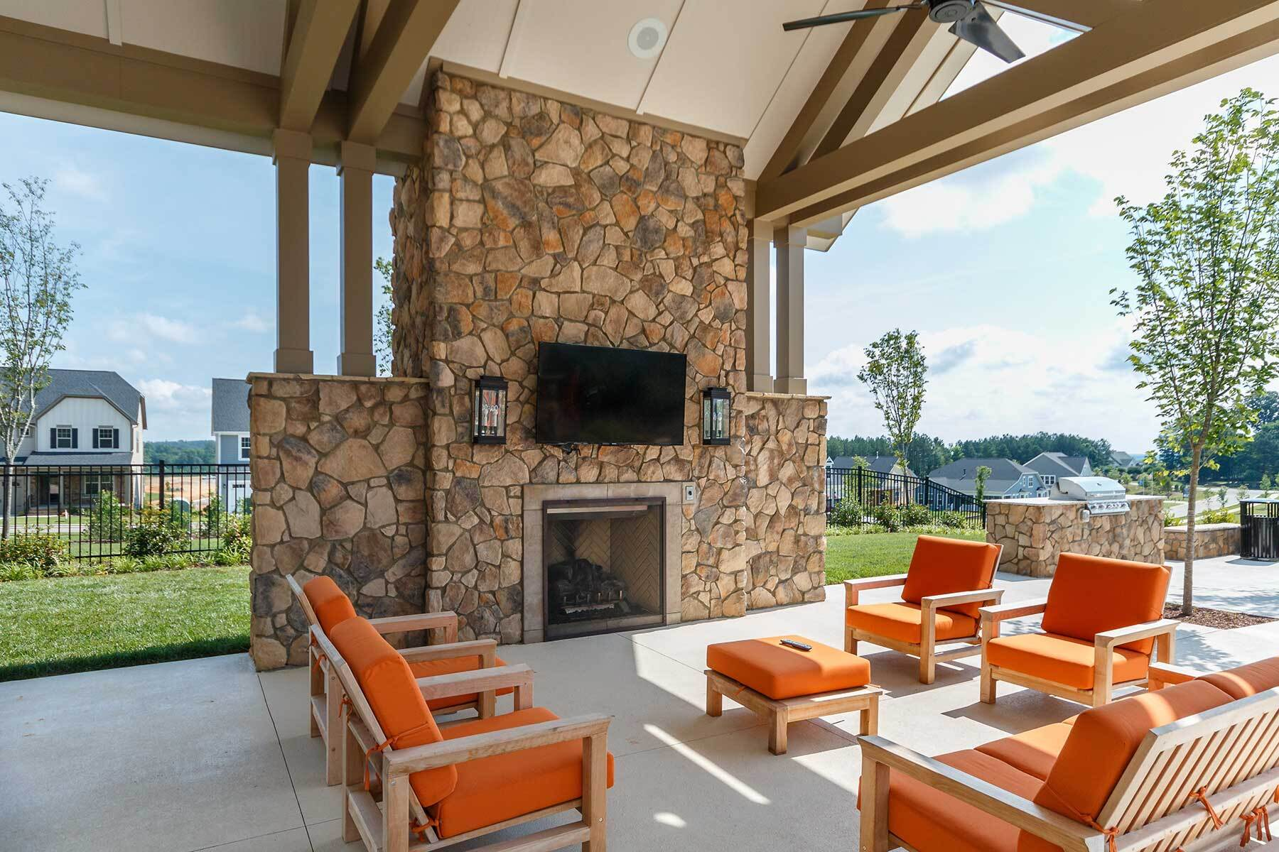 Legacy at Jordan Lake - Legacy Village- Clubhouse