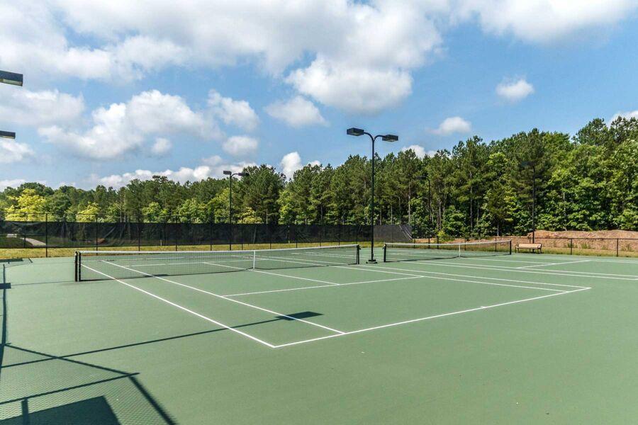 Legacy at Jordan Lake - Legacy Village- Tennis Court
