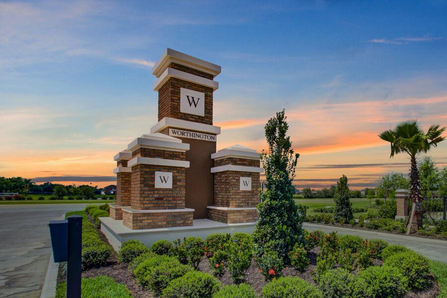 Worthington Entrance