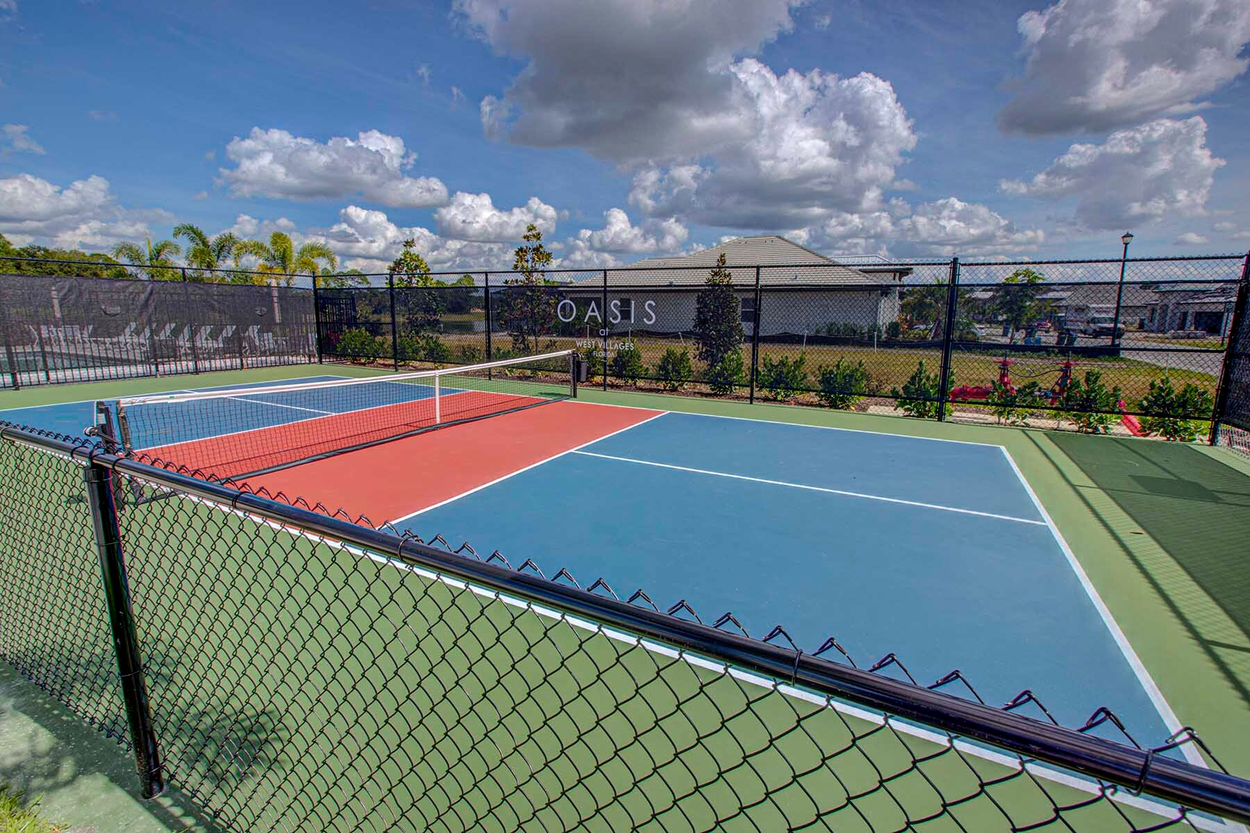 Oasis at West Villages Tennis Courts