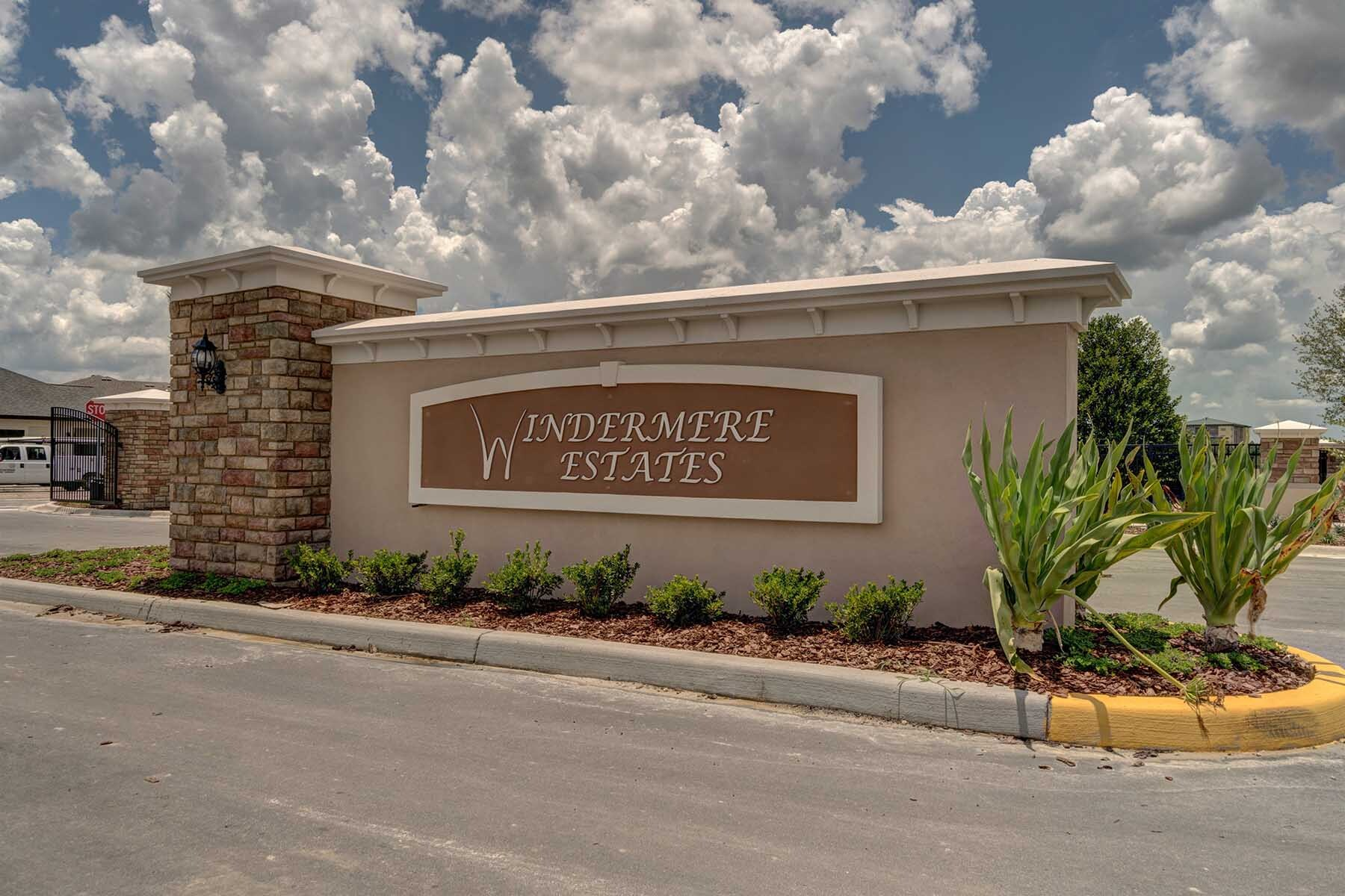 Windermere Estates Entrance