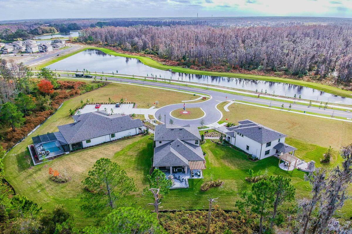Starkey Ranch Albritton Park Aerial