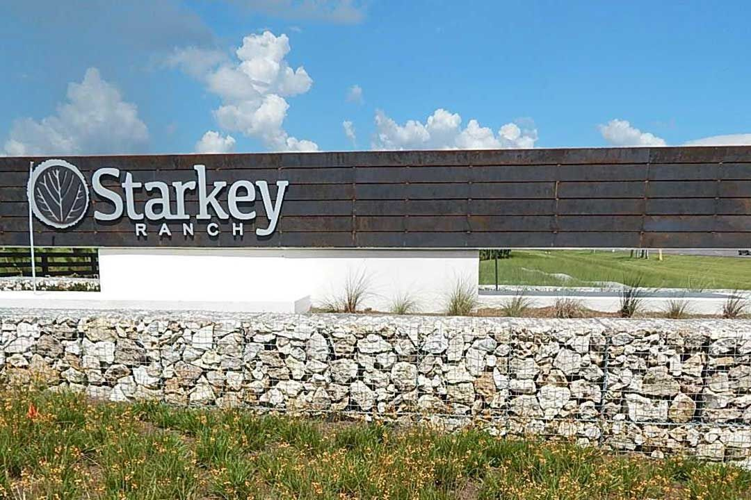 Starkey Ranch Albriton Park Entrance