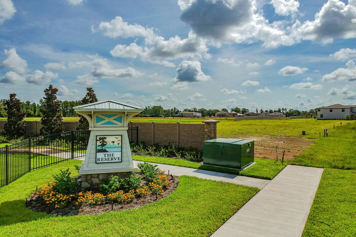 The Reserve at Long Lake Ranch Manor Entrance