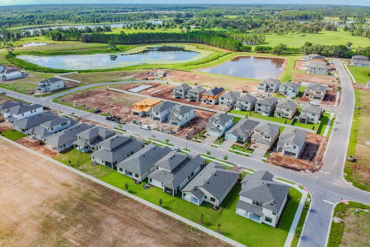 Long Lake Ranch Executive Aerial
