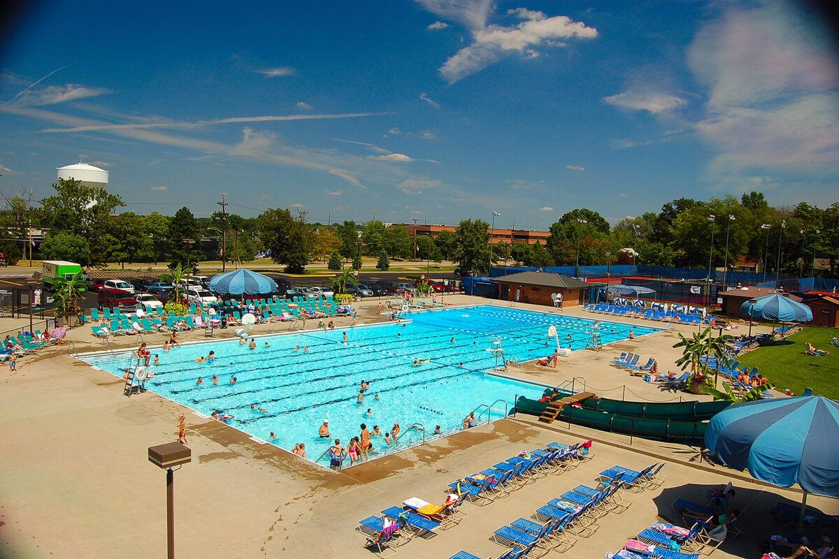 Blue Ash Rec Center Pool