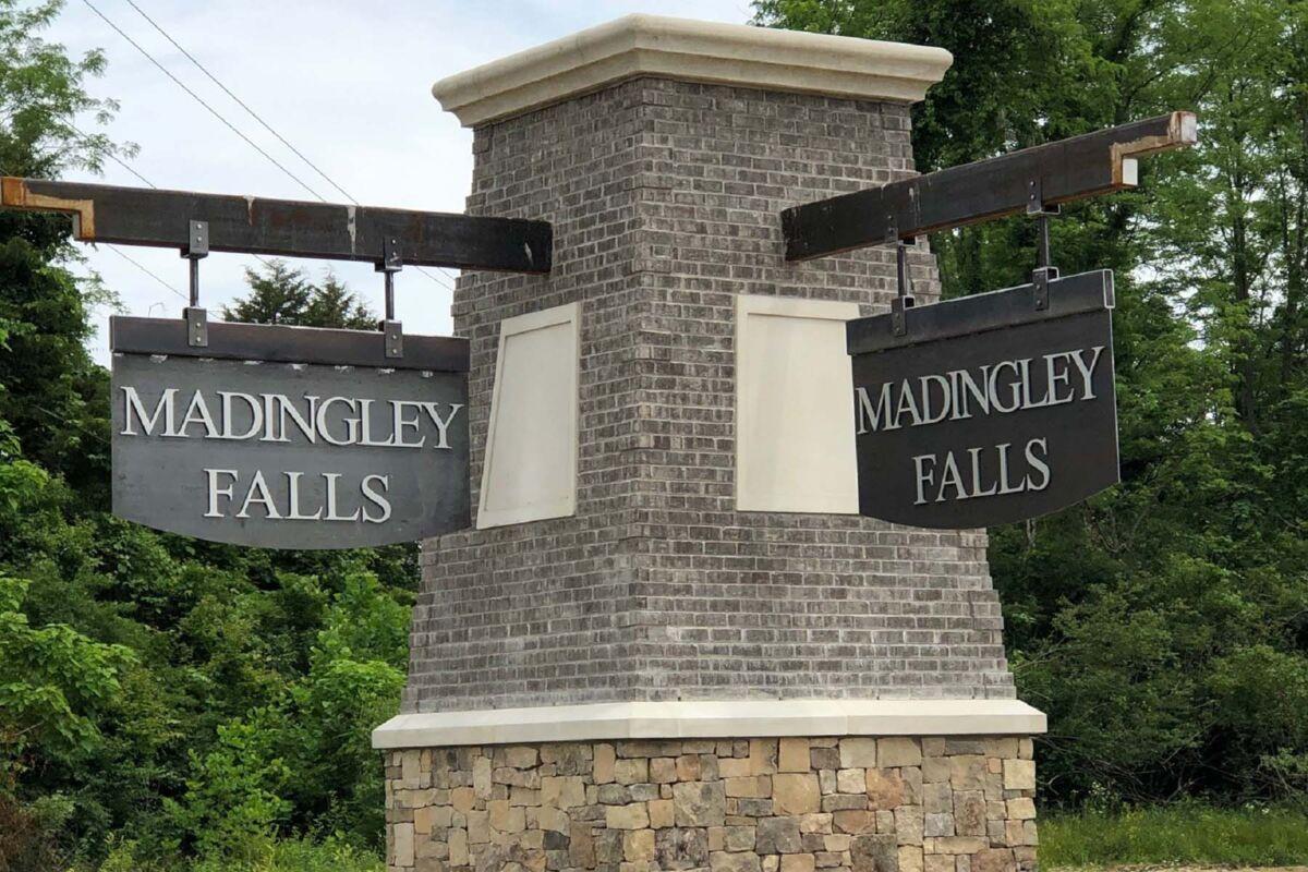 Madingley Falls Entrance