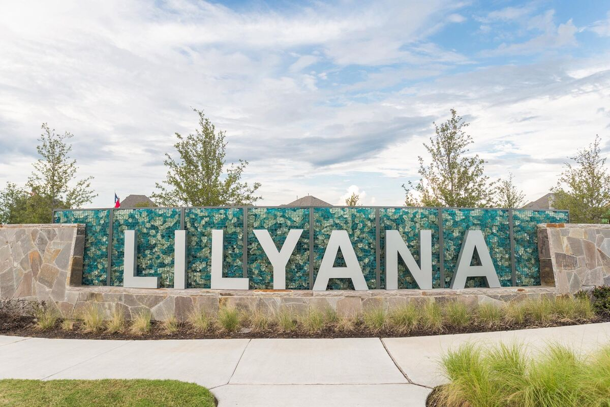 Lilyana Community Entrance