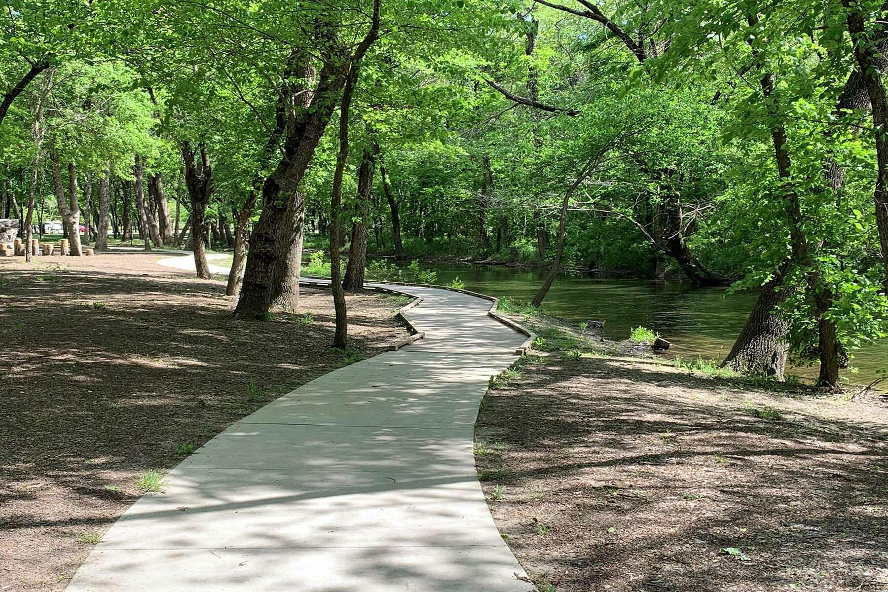 Chapel Trails Surrounding Area Park Trails