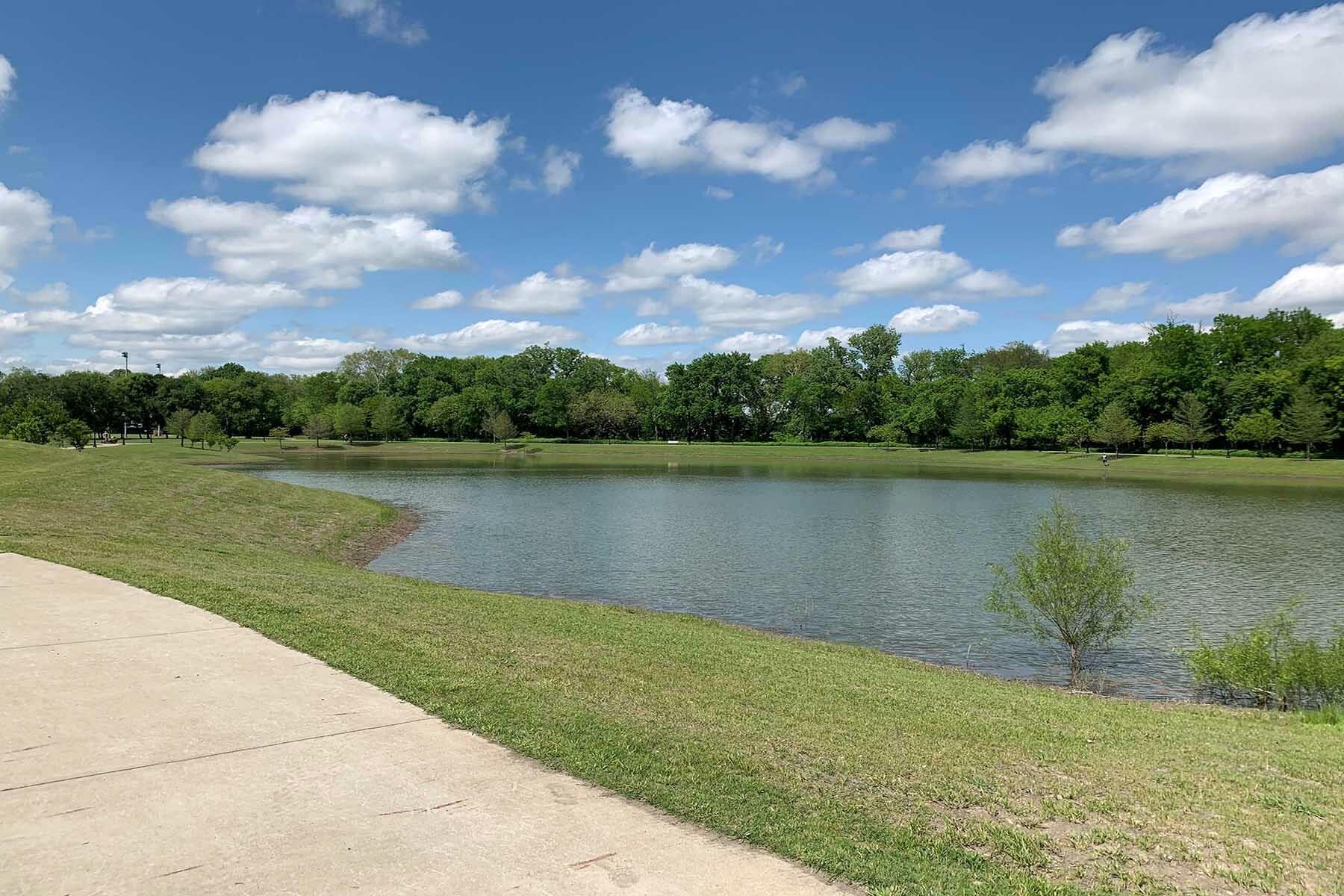 Chapel Trails Surrounding Area Pond