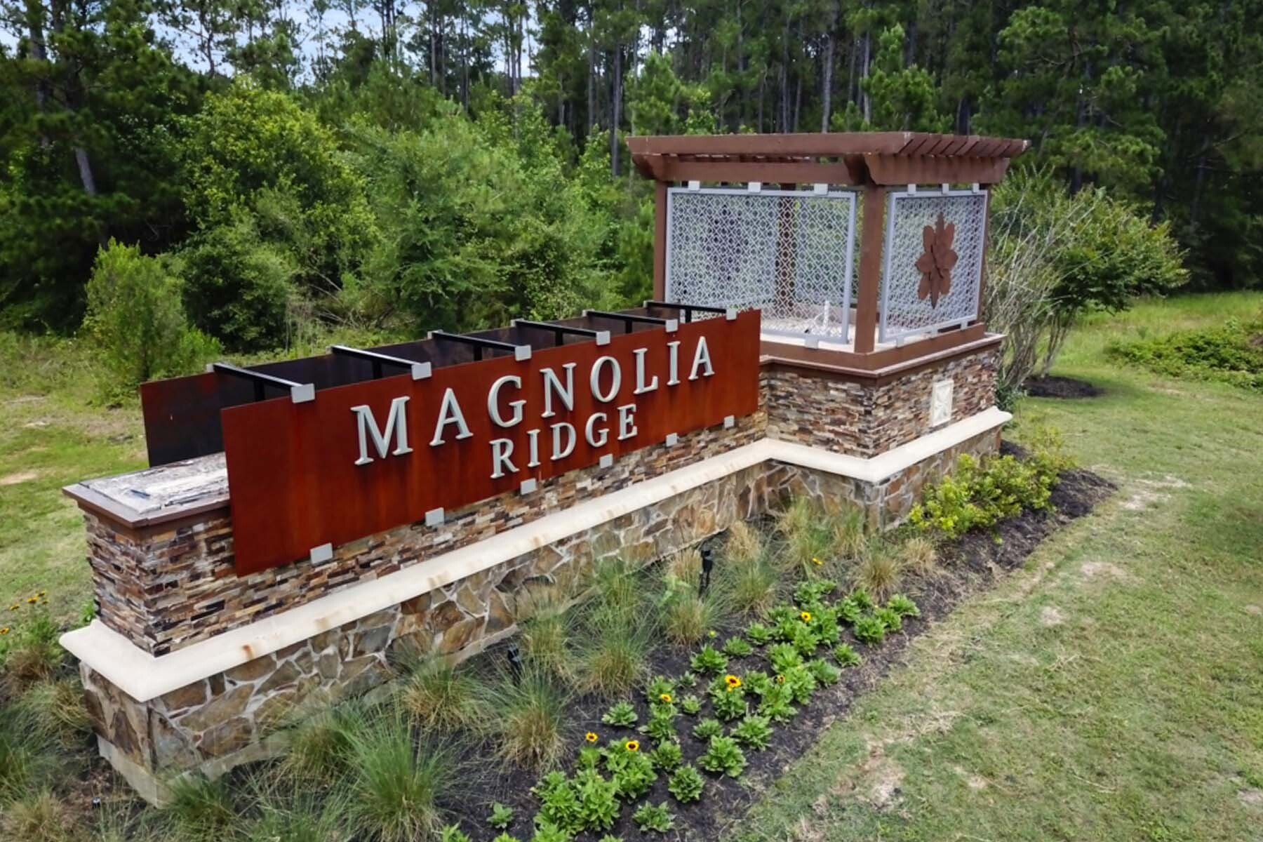 Magnolia Ridge Entrance