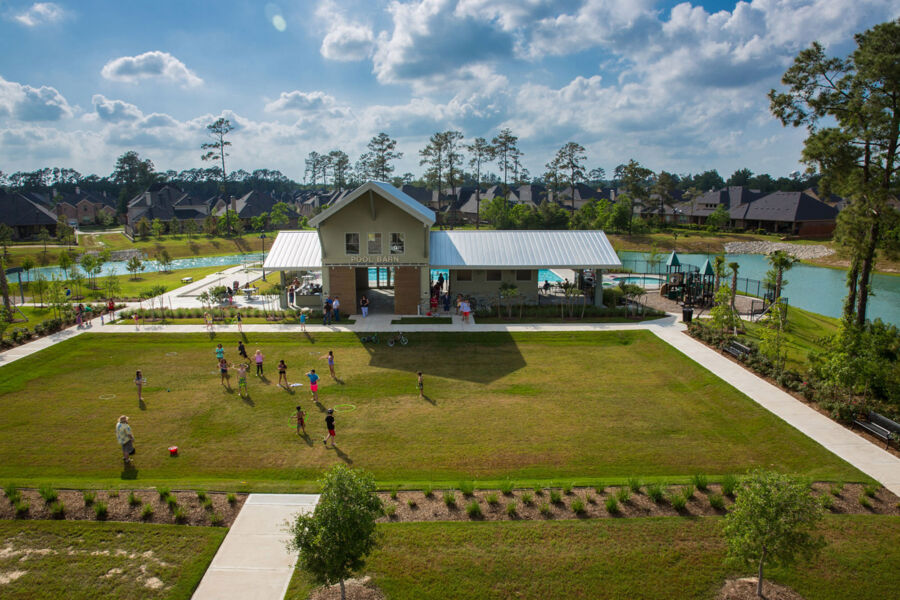 Harper's Preserve Pool Barn