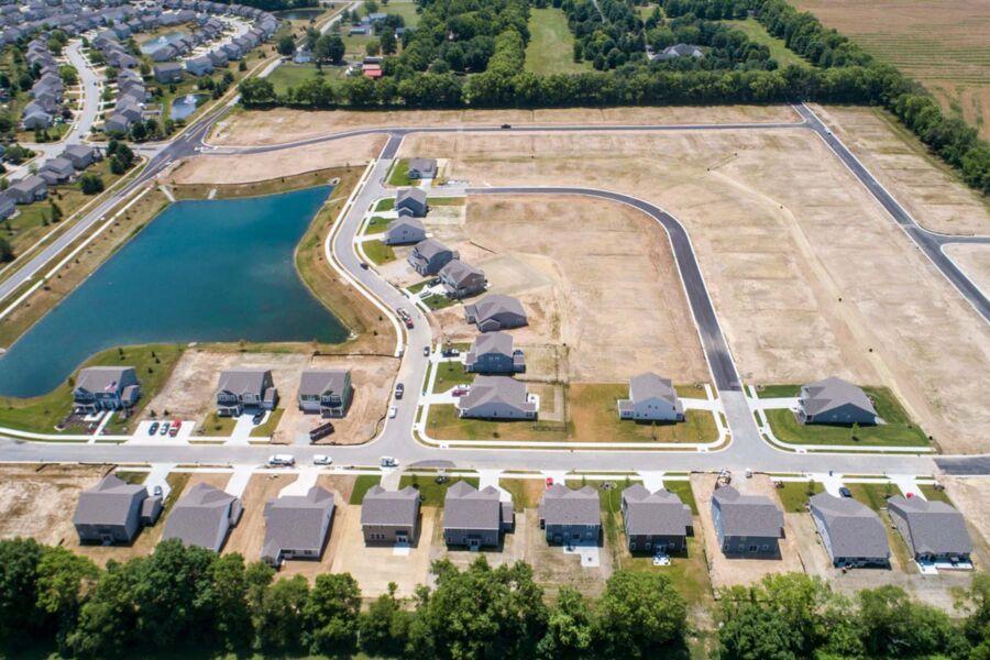 Riley Meadows Aerial