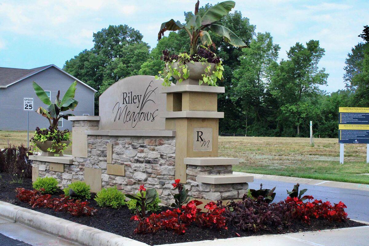 Riley Meadows Entrance