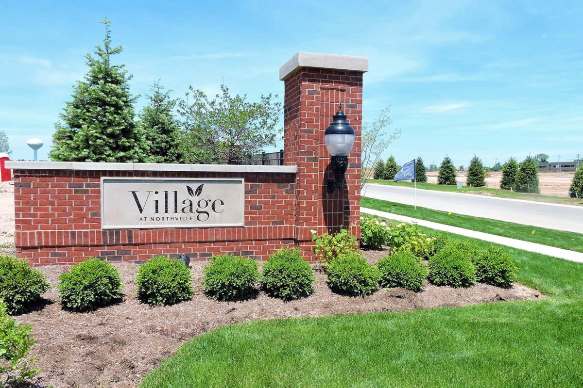 Village at Northville Entrance