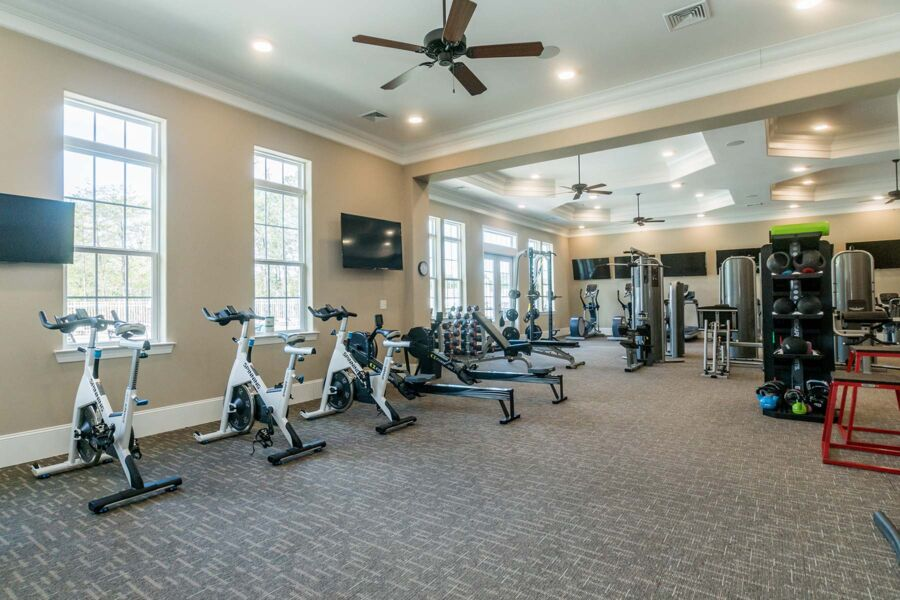 Ellis Crossing Townes Clubhouse Exercise Room